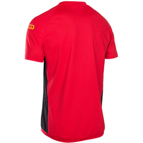 ION Traze AMP Cblock Bike Jersey Shortsleeve Men red/black